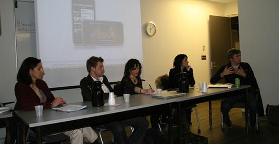 Phono des panelistes - Journée mondiale de l'utilisabilité à Montréal